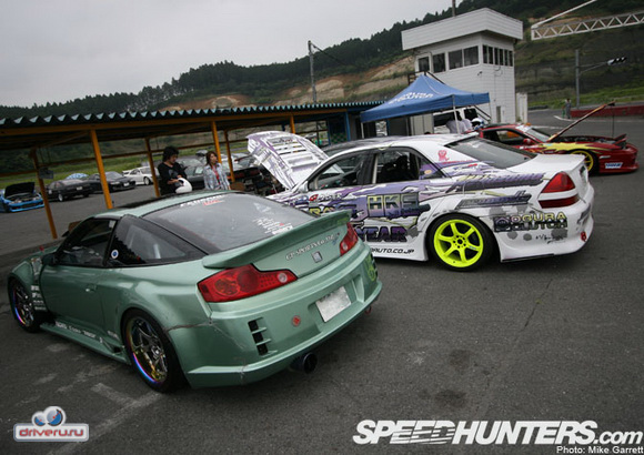 Drift Nikko - Nissan 180SX, Toyota Mark 2