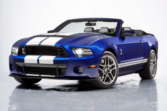 Ford Shelby GT500 2013 года